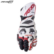 Five RFX Race Adult Gloves White/Red