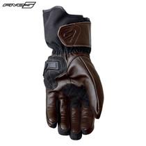 Five WFX Skin Waterproof Adult Gloves Brown