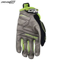 Five MXF Pro Rider S Adult Gloves Black/Flo Green