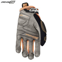 Five MXF Pro Rider S Adult Gloves Black/Flo Orange