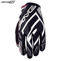 Five MXF Pro Rider S Adult Gloves Black/White