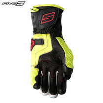 Five RFX4 Replica Adult Gloves Black/Flo Yellow