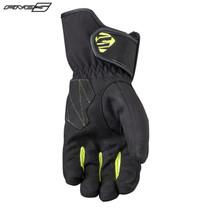 Five WFX3 Waterproof Adult Gloves Black/Flo yellow