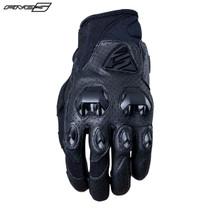 Five Stunt Evo Leather Air Adult Gloves Black