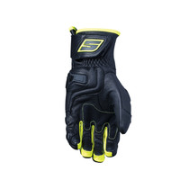 Five RFX4 Replica Adult Gloves Black/Fluo Yellow