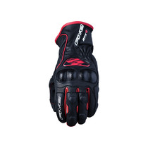 Five RFX4 Replica Adult Gloves Black/Red