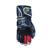 Five RFX1 Replica Adult Gloves Camo Fluo Yellow