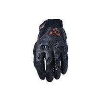 Five Stunt Evo Leather Air Adult Gloves Brown