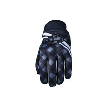 Five Globe Replica Adult Gloves Igsignia Check Black