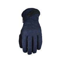 Five Milano Waterproof Womens Adult Gloves Denim