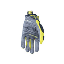 Five MXF Pro Riders Adult Gloves Grey/Fluo Yellow
