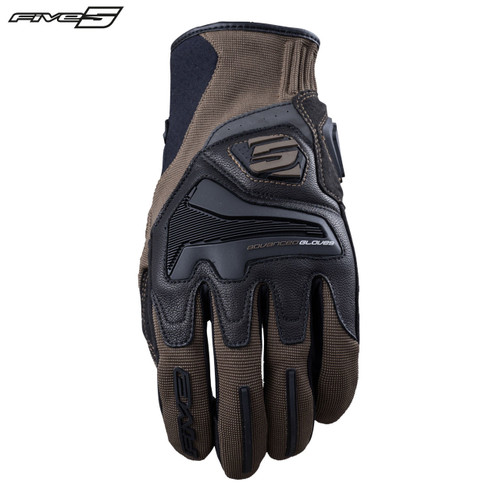 Five RS4 Adult Gloves Brown