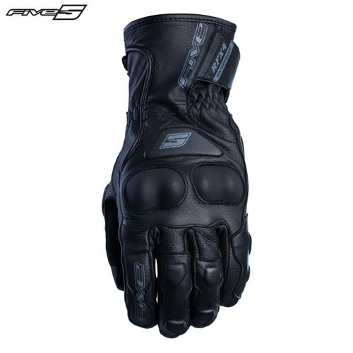 Five RFX4 Waterproof Adult Gloves Black