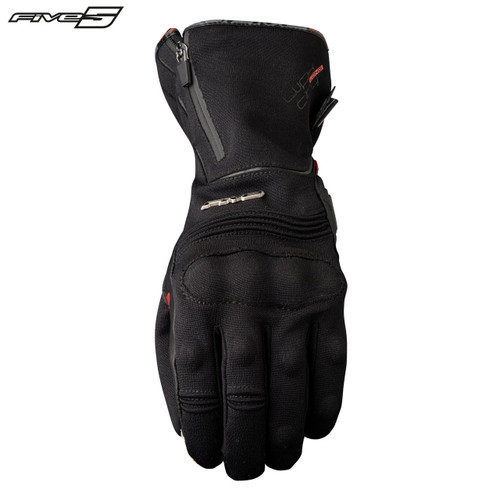Five WFX City Long Waterproof Adult Gloves Black