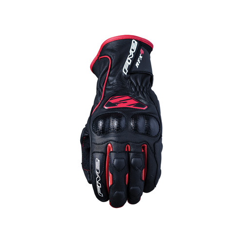 Five RFX4 Replica Adult Gloves Black/Red