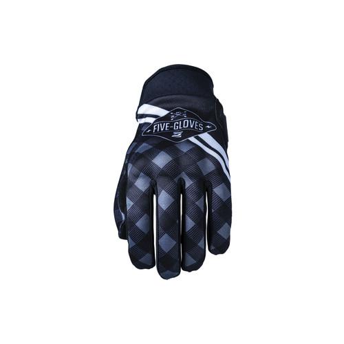 Five Globe Replica Adult Gloves Igsignia Check Black