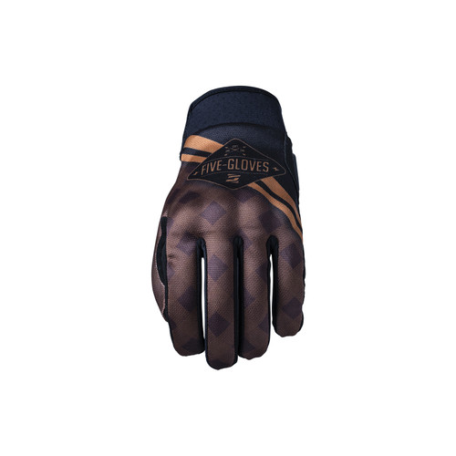 Five Globe Replica Adult Gloves Igsignia Check Brown