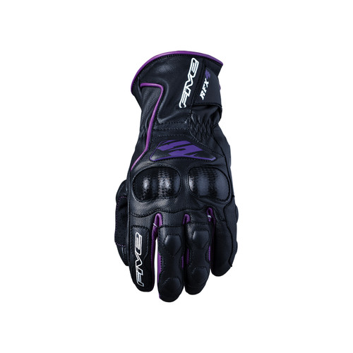 Five RFX4 Womens Adult Gloves Black/Purple