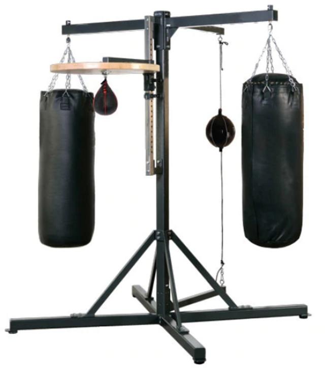 PROLAST® Platinum Professional 4-Station Gym Heavy Bag Stand