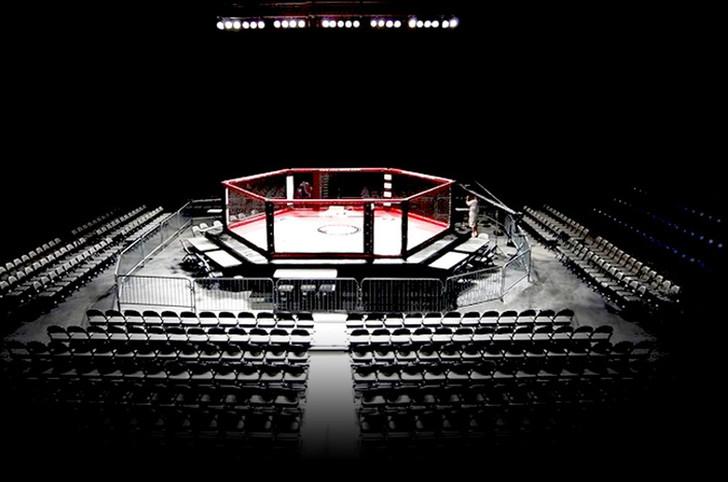 PROLAST 24' X 24' Professional MMA Ring