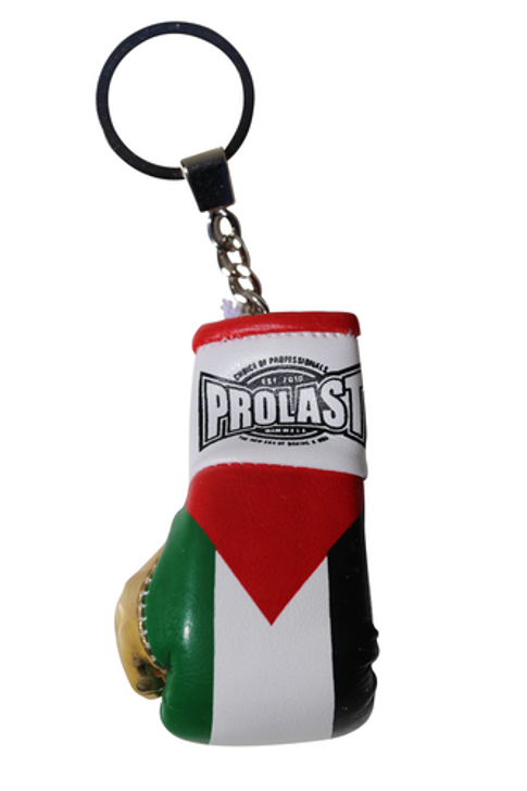 PROLAST® PALESTINE FLAG BOXING GLOVE KEY RING (MADE IN USA)