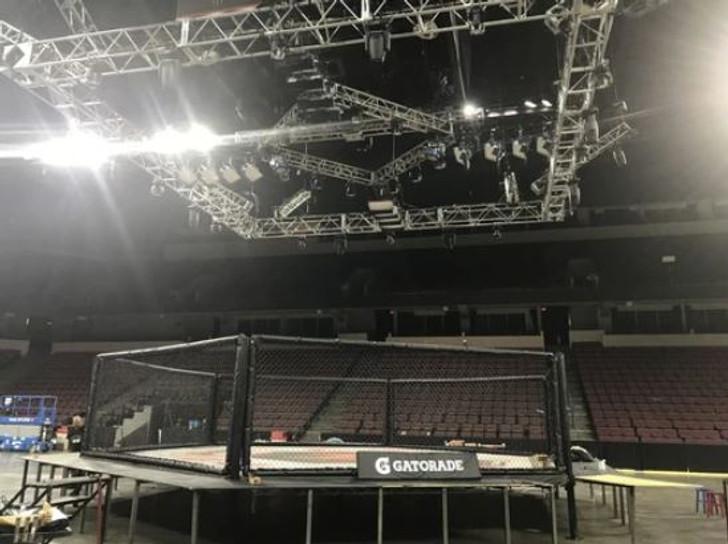 PRO MMA 30' X 30' HEXAGON MMA CAGE