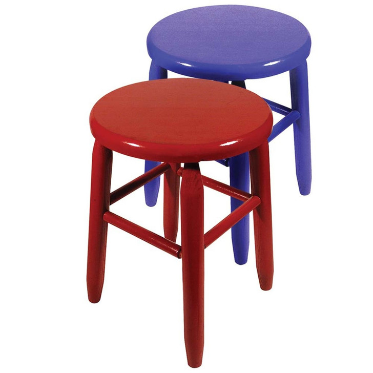 PROLAST 1 Pair Boxing Ring Stools (1 Red, 1 Blue)