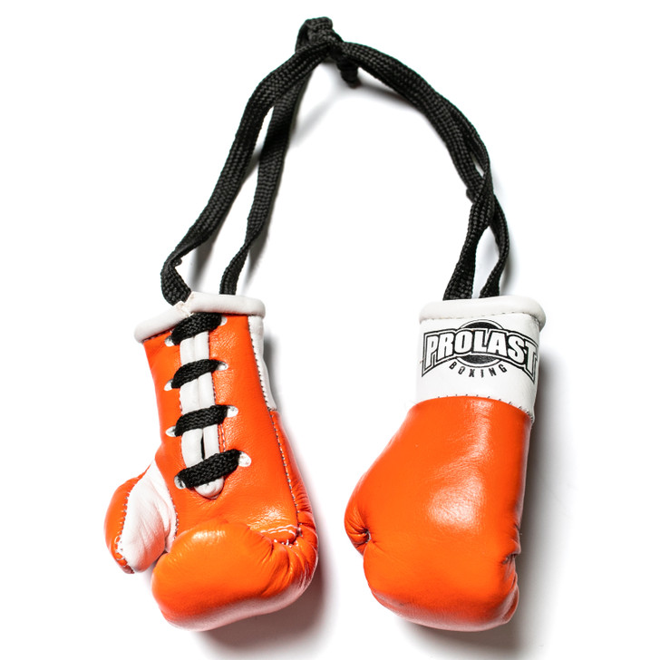 PROLAST Luxury Leather Orange Mini Boxing Gloves