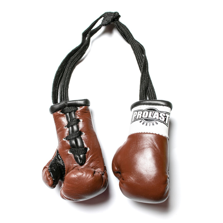 PROLAST Luxury Leather Brown Mini Boxing Gloves