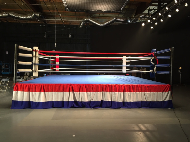 PROLAST Elevated Boxing Ring 20' X 20'