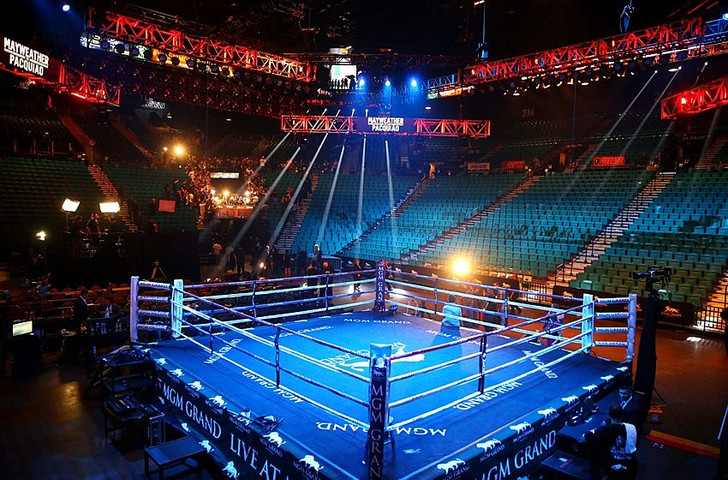 PROLAST Elevated Boxing Rings 22' X 22'