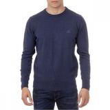 Copy of Sweater Long Sleeves Round Neck Pullrus100 Dark blue