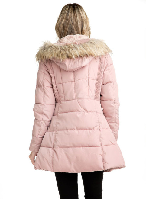 Women's Winter Jacket Style 14 Blush