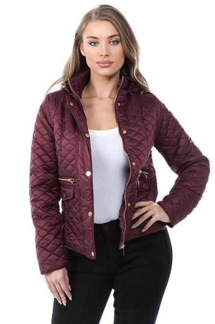 Women's Winter Jacket Style 29 Wine