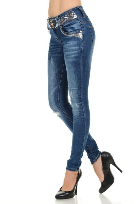 Premium Edition Women's Jeans Style SD029-R