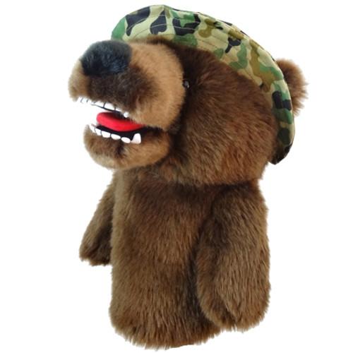 Daphne's Animal Headcovers - Military Bear