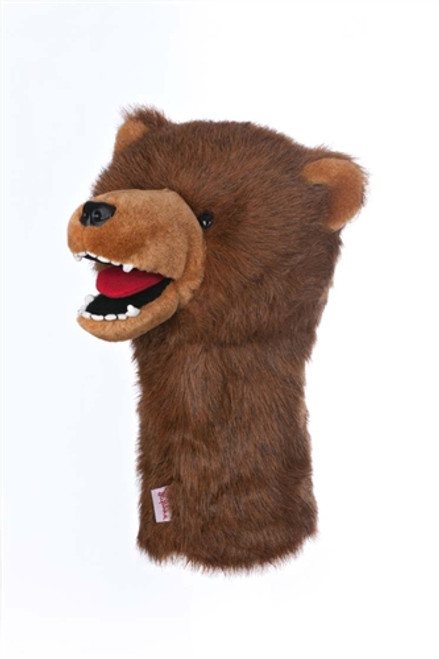 Daphne's Animal Headcovers - Grizzly Bear