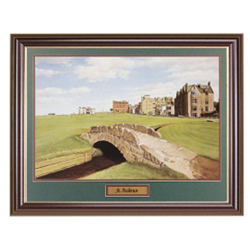 St. Andrews Framed Golf Art
