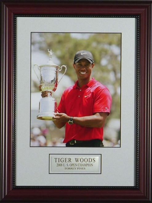 Gotta Have It Tiger Woods 2008 US Open Artwork - Featuring Trophy