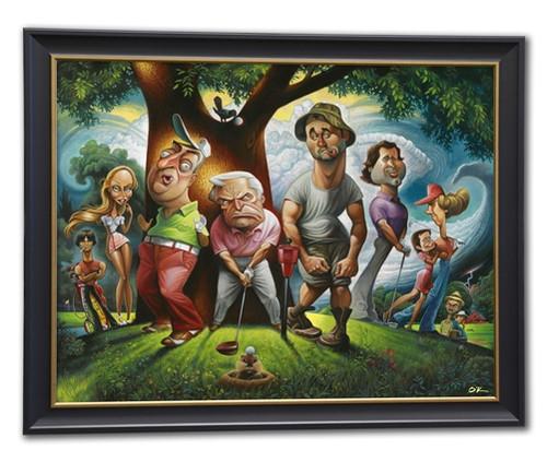 Caddyshack Bushwood - Framed Fine Art Giclee Print