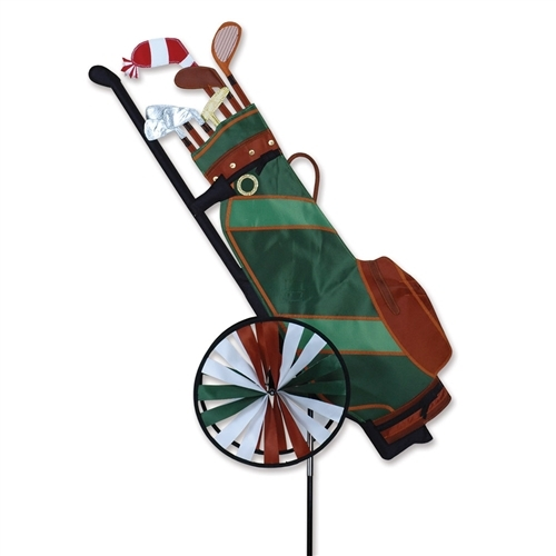 """WindGarden Golf Bag Spinner 24"""""""