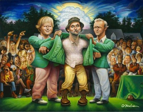 The Green Jacket - Unframed Fine Art Giclee Print
