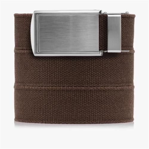 Slidebelts Brown Canvas Belts