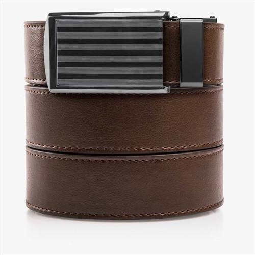 Slidebelts Mocha Brown Classic Belts