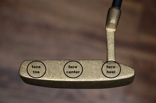 PING Wrx Custom Putter Add-On:  Etched Lettering