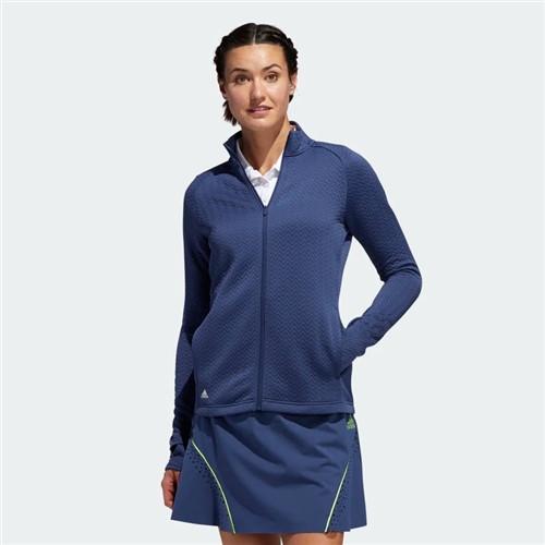 Adidas Women's Textured Layered Jacket