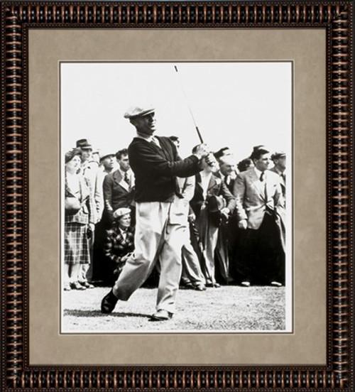 """Ben Hogan 30"""" x 27"""" Framed B&W Photo"""