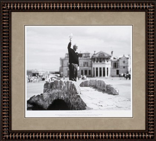 """Farewell to the Open 30"""" x 27"""" Framed B&W Photo"""