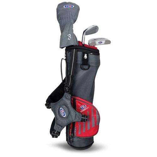 "U.S. Kids Golf Ultralight 39"" 3-Club Carry Bag Set"