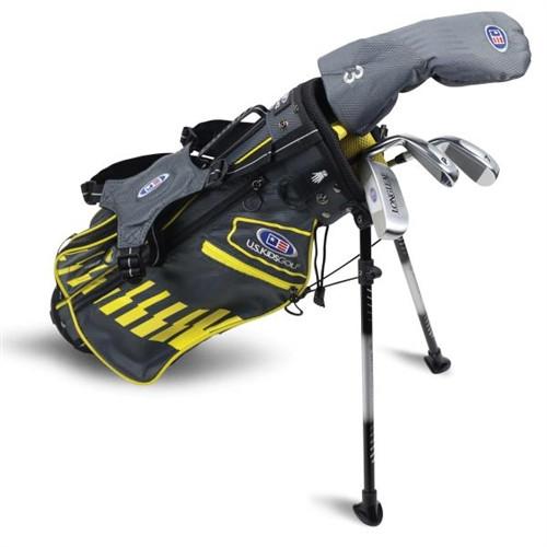 """U.S. Kids Golf Ultralight 42"""" Stand Bag 4-Club Set"""